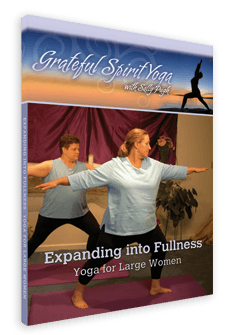 Expanding Into Fullness Plus Size Yoga DVD
