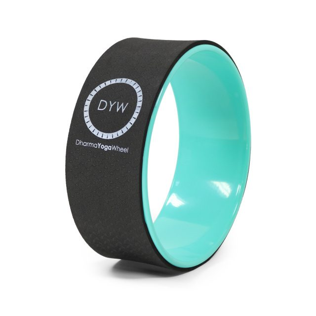 Dharma Yoga Wheel Turquoise Color