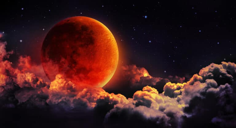 Spiritual Meaning Of Blood Moon